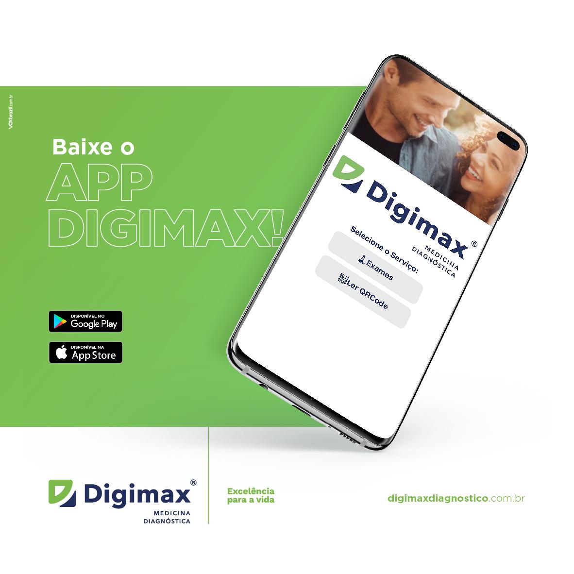 Aplicativo Digimax: comodidade na palma da sua mão!