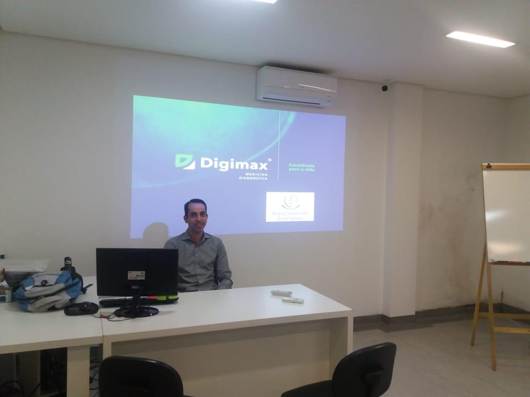 Clínica Digimax Unidade Karam realiza palestra sobre avaliação radiológica de cefaleia na urgência