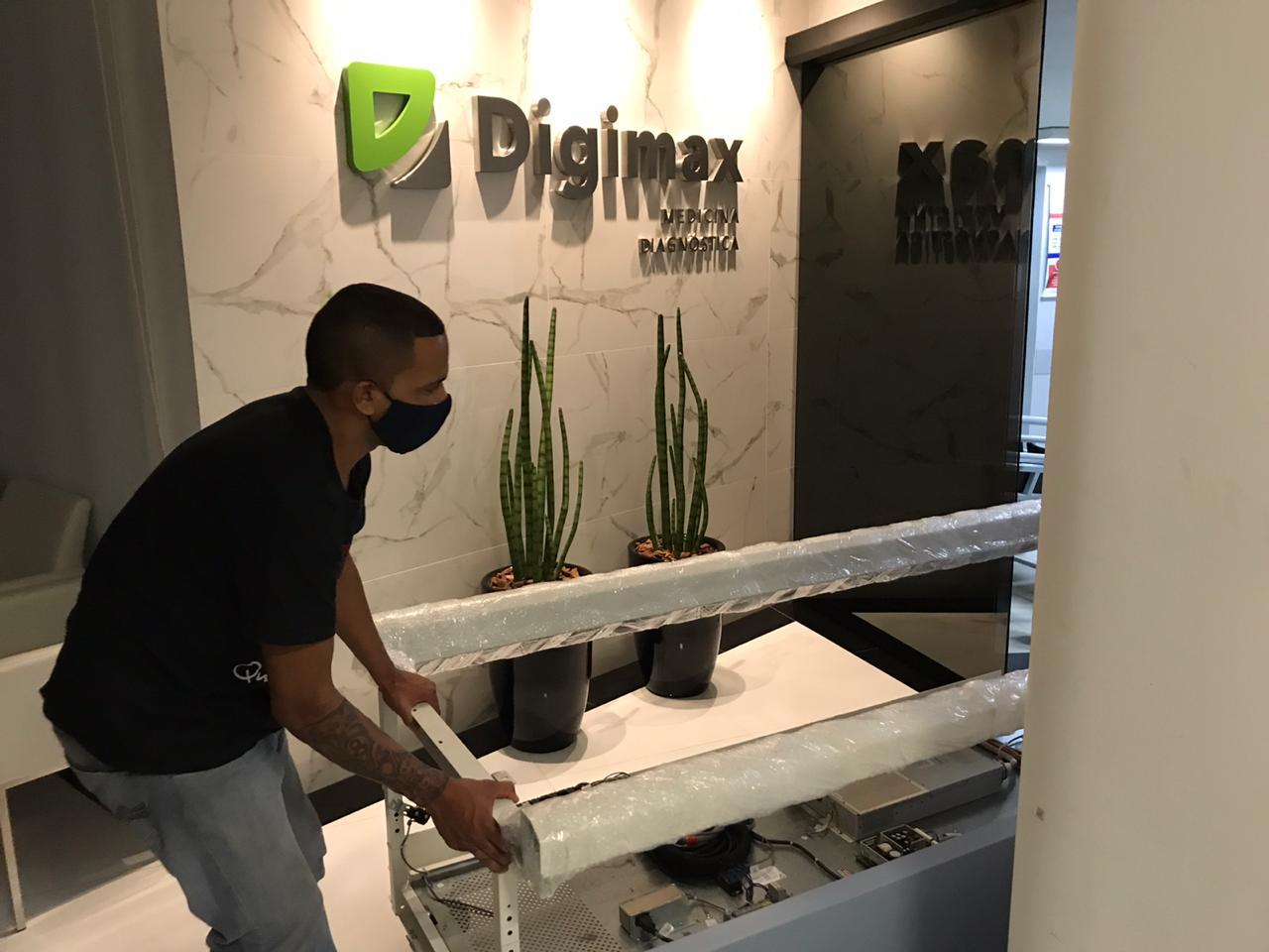 Digimax Americana - Unidade São Francisco investe em um novo aparelho de densitometria óssea