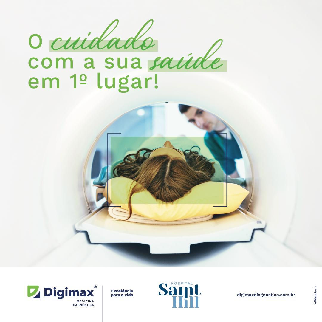 Digimax em parceria com Hospital Saint Hill oferece exame de ressonância magnética com sedação