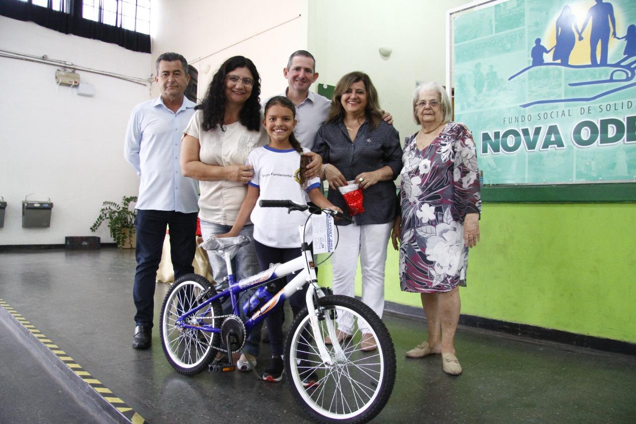 Digimax faz doação de bicicletas para a prefeitura de Nova Odessa