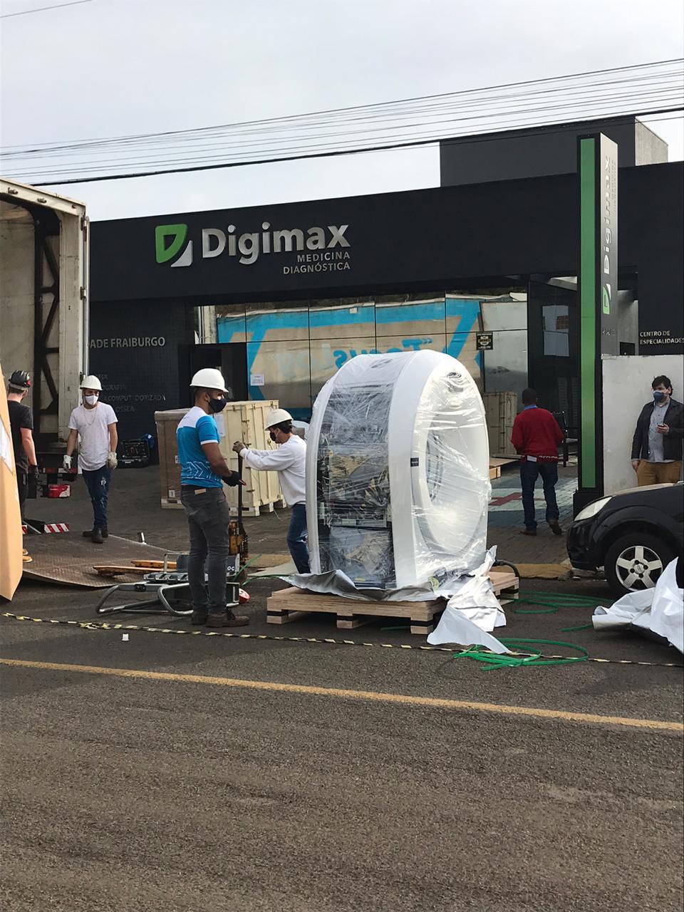 Digimax Fraiburgo investe em um novo aparelho para realizar o exame de tomografia computadorizada