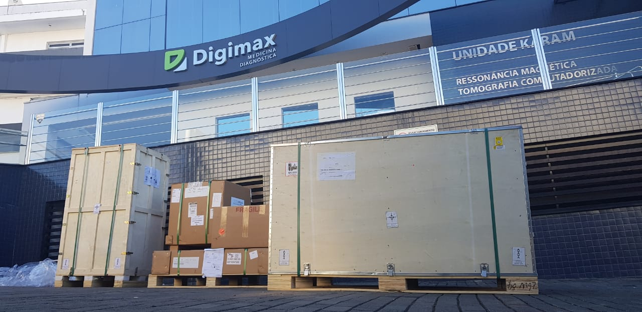 Digimax Karam evolui o exame de tomografia computadorizada com um novo tomógrafo
