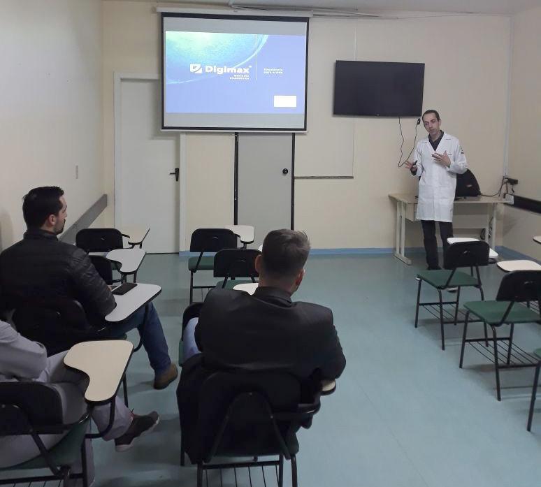Digimax promove debate sobre a radiologia para profissionais do Hospital Fraiburgo