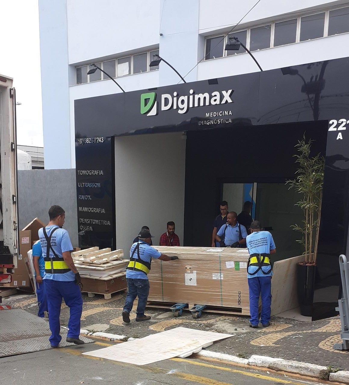 Digimax Santa Bárbara d'Oeste (SP) recebe novo aparelho de tomografia