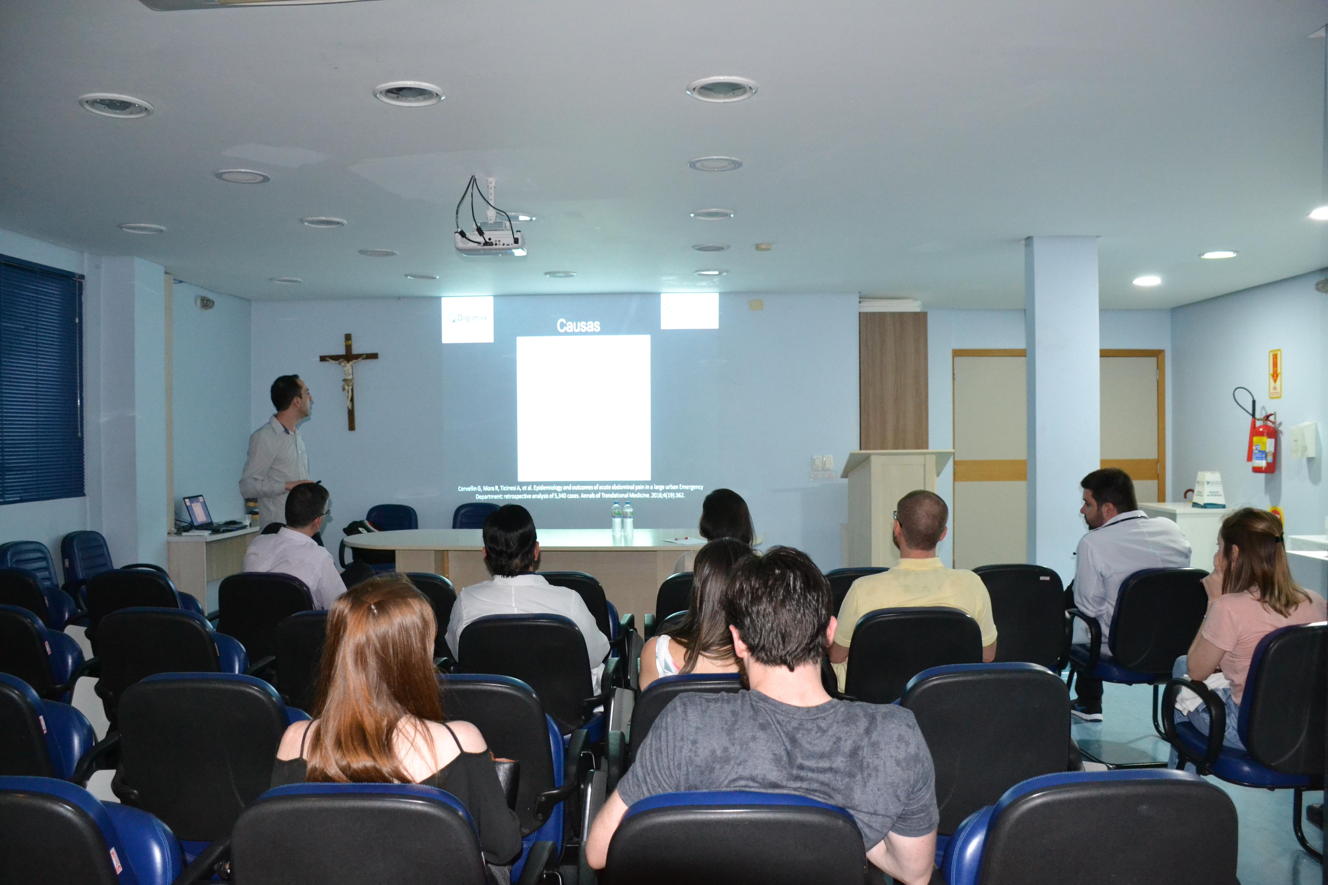 Hospital Regional São Paulo recebe palestra da Digimax Medicina Diagnóstica