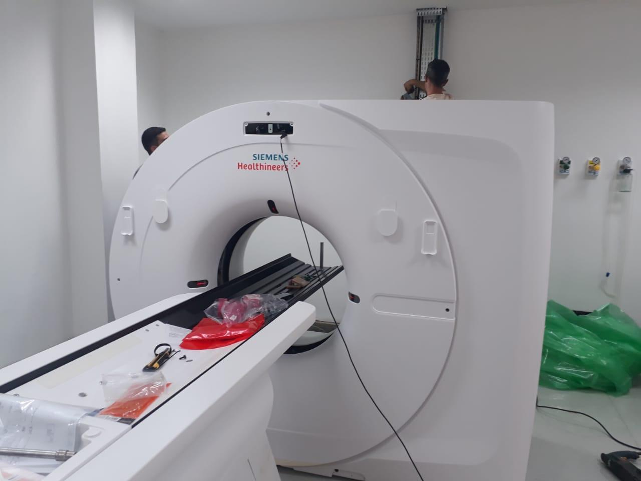 Hospital Seara do Bem, em Lages, tem um novo tomógrafo